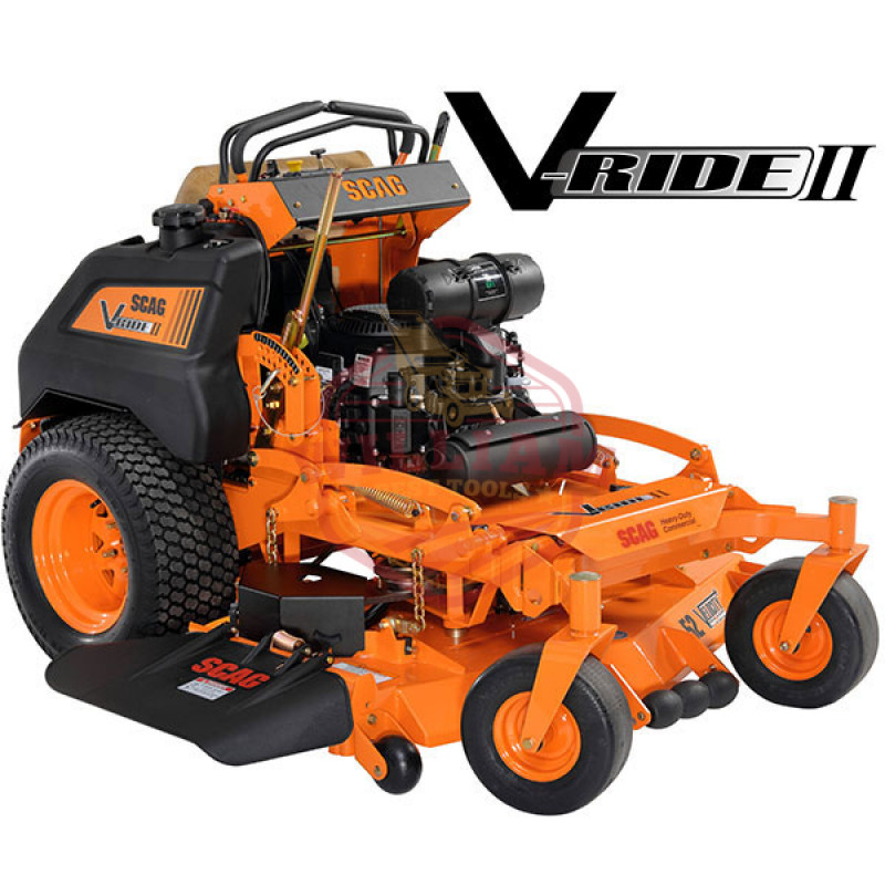 Scag V-Ride SVR52V-25CV-EFI 52 inch 25HP (Kohler) Stand On Mower