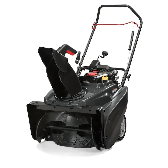 Briggs & Stratton 1022ER 22-in 208-cc Single-Stage with Auger Assistance Gas Snow Blower with Push-Button Electric Start
