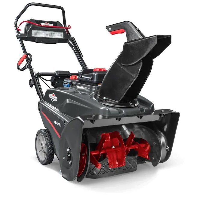 Briggs & Stratton Briggs & Stratton 1222EE 22-in Single-Stage Snow Blower with SnowShredder